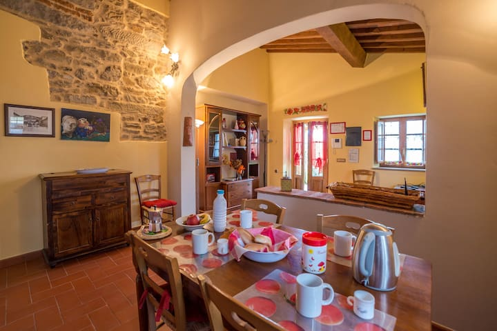 Apartment Tuscany charm in home countryside - Reggello - Appartement