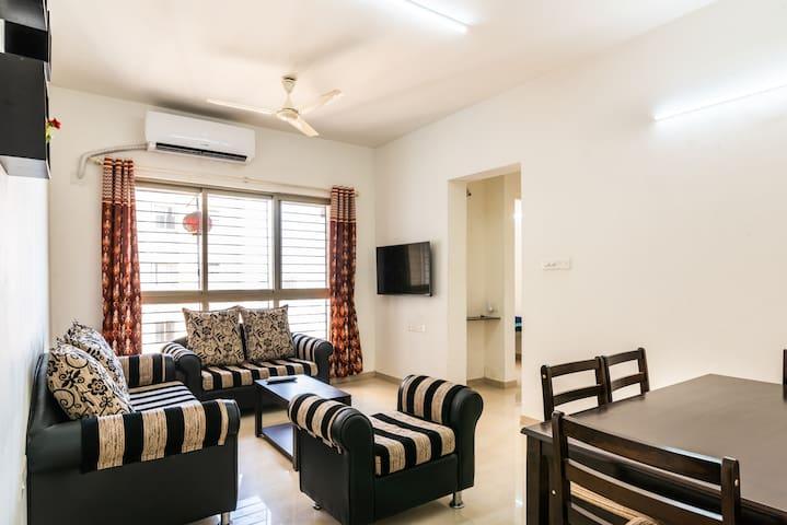 Comfortable apartment at Palava City