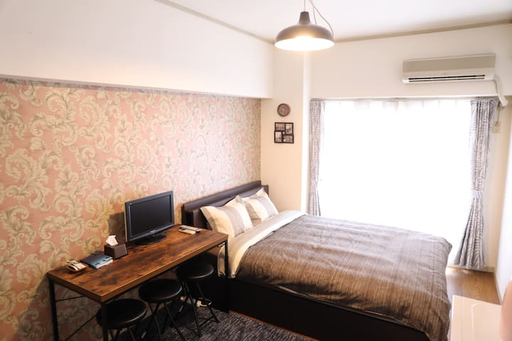★Close to Sakae★City center★4min by taxi★Wi-Fi★
