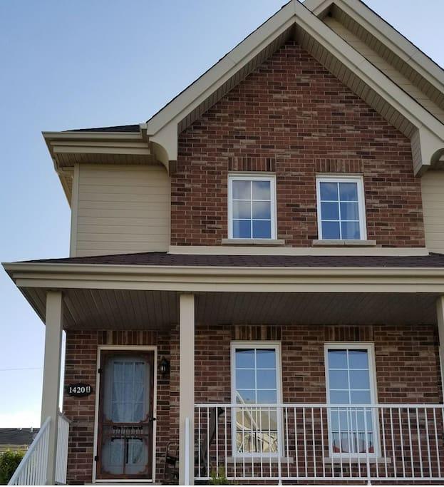 triplex  logement sur deux étages