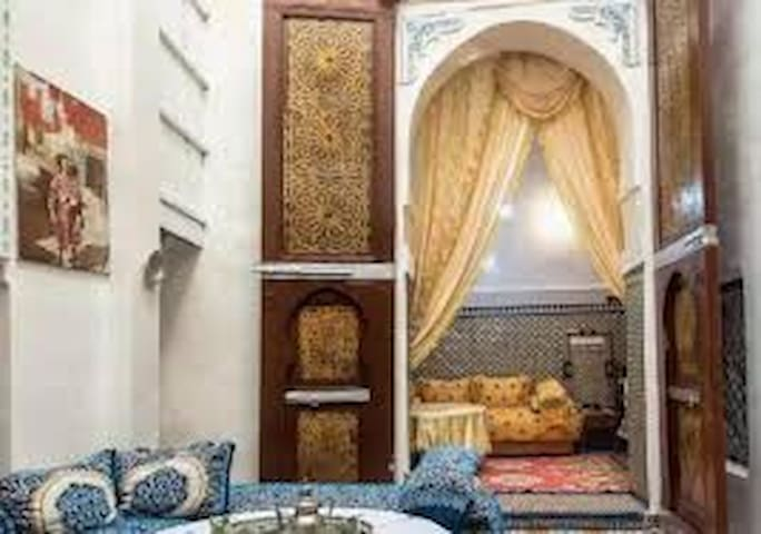 Riad Samnoun in the heart of Fez Medina