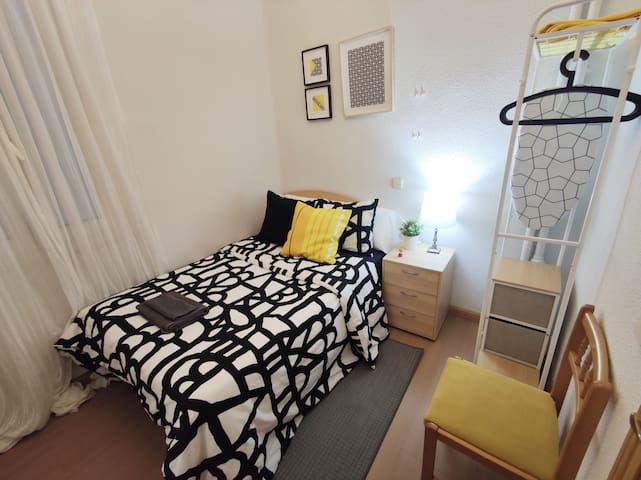 Habitación Doble Privada Centro / Barrio Salamanca