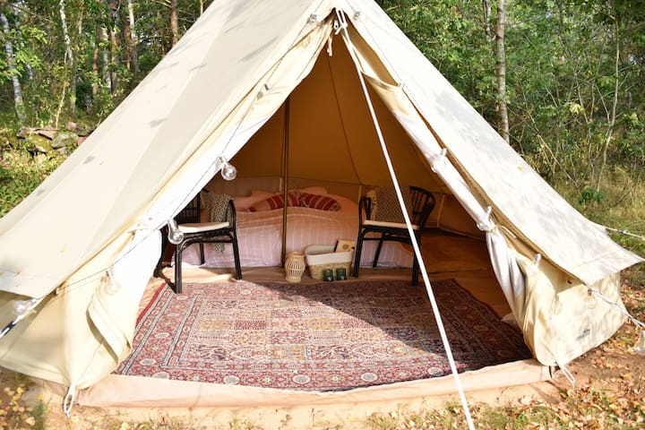 Cozy Glamping - unplug, private getaway.