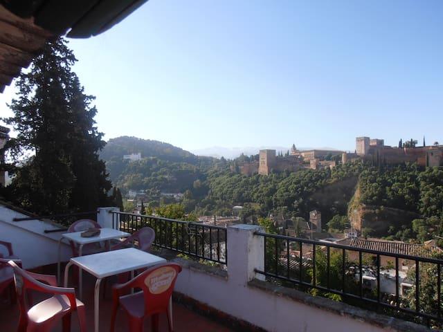 Dar al Ana. Albayzín 2. Lo mejor de Granada! rooms - Granada - Bed & Breakfast