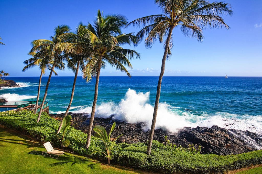 Magnificent View from Poipu Shores 304A