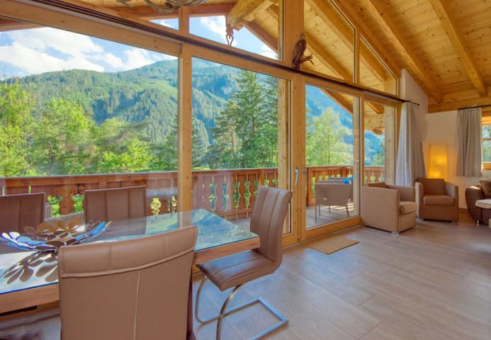"Chalet 15 ""Grünwald"" - Alpen chalet on a sunny hillside with mountain view"