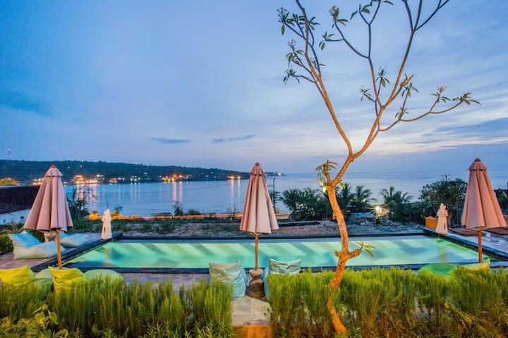 Tawe Ocean Blue Villa Lembongan - Pool View Villa
