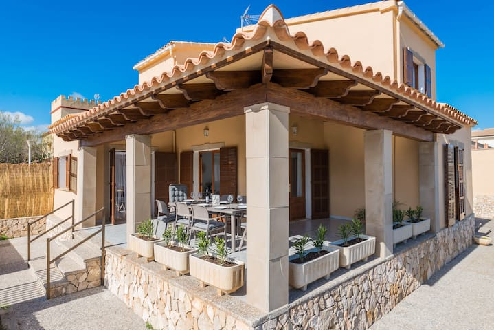 NA TORRADA - Chalet for 8 people in Son Serra de Marina. - Son Serra de Marina - Дом