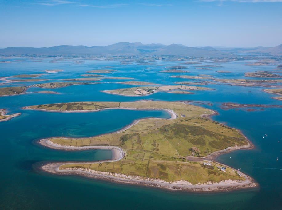 The Adventure Islands, Collanmore Island   Westport