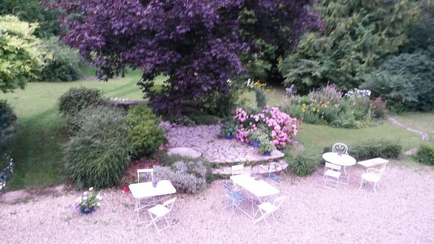 Chambre de l'Ile d'Amour - Saint-Julien-du-Sault - Dům
