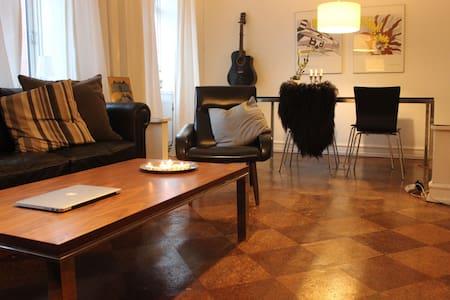Cosy apartment near Center + Metro in Copenhagen - København - Apartment
