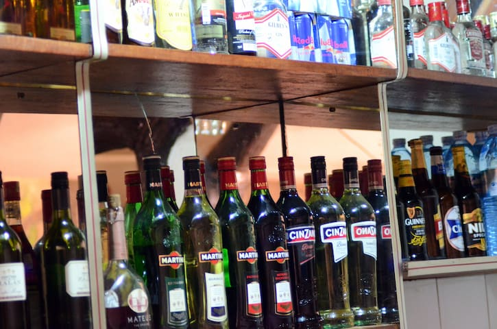 Our stocked bar is open till late every day of the week.