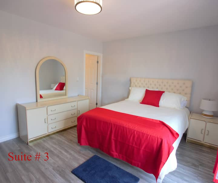 BANK on a Comfortable stay at the Baie!  Suite #3