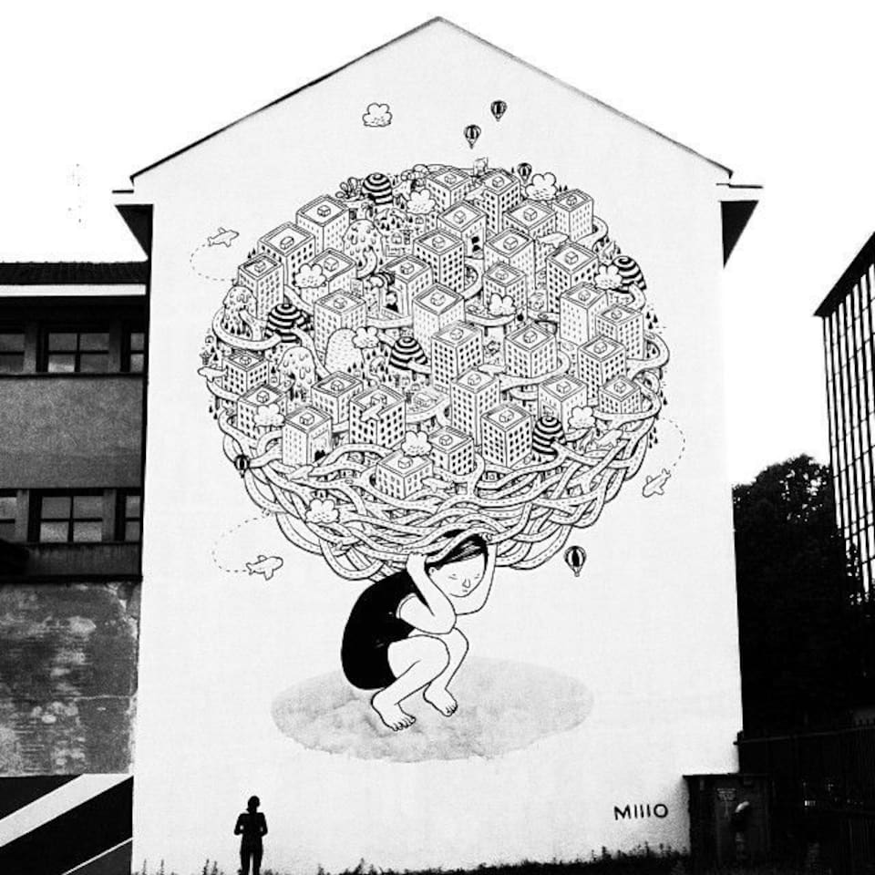 Street art in Barriera di Milano