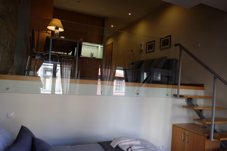 Charm loft duplex   lofts for rent in porto