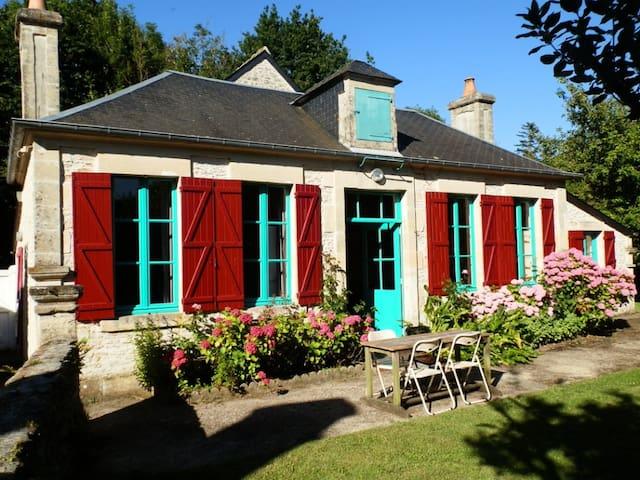 Maison charme & vintage, plages du débarquement - Sommervieu - Huis