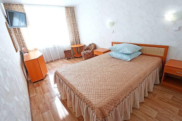 Одноместный полулюкс с 2-сп кроватью - Kirov - Other