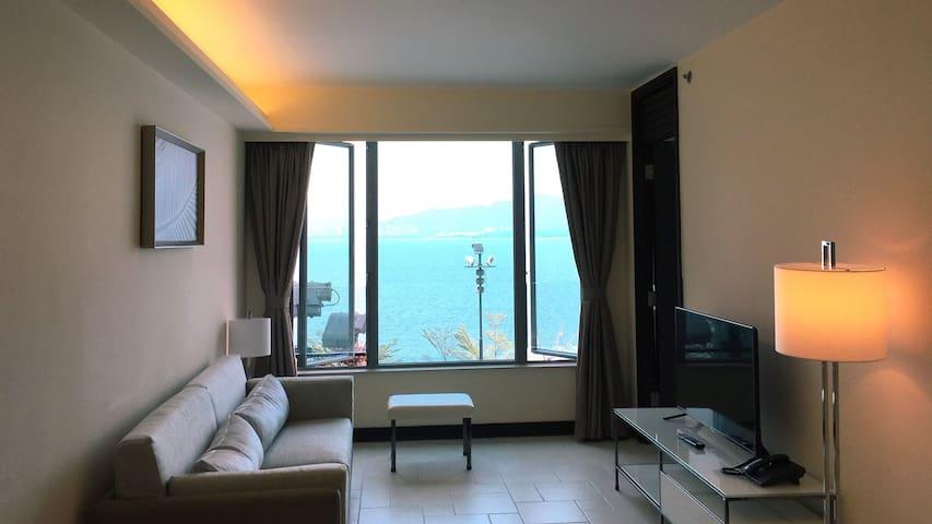 入住香港旅行专栏作者的豪华海景公寓 - Hong Kong - Leilighet