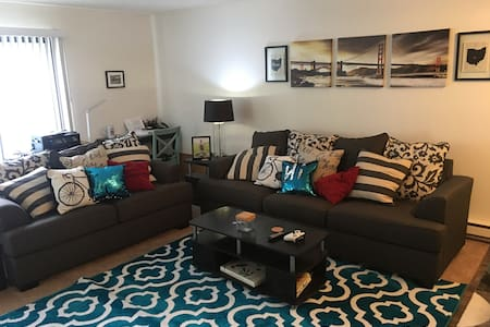 Clean, Quiet, and Comfy near SFO! - South San Francisco - Byt