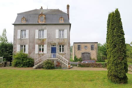 Comfortable 'Maison de Maitre', sleeps 11 - Roullours - House - 0