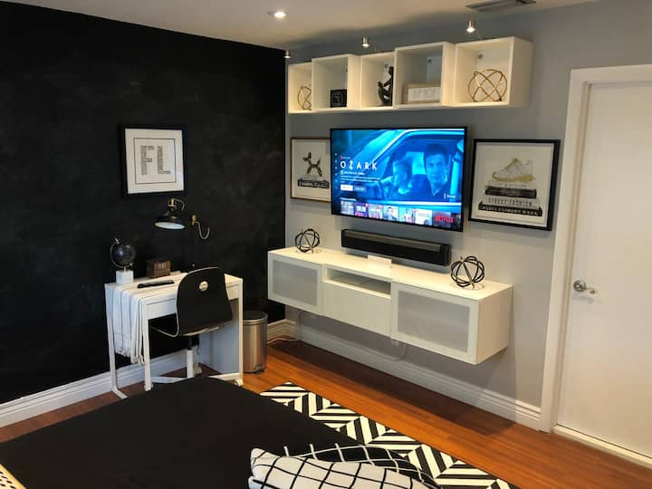 Clean&Modern Room and OnSuite Bath for a Long Stay