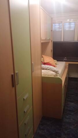 Habitación Individual con TV y wifi - Barcelona - Apartment
