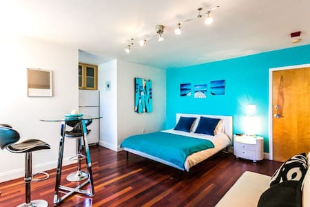 Elegant Studio Close to the Beach - Miami Beach - Apartament