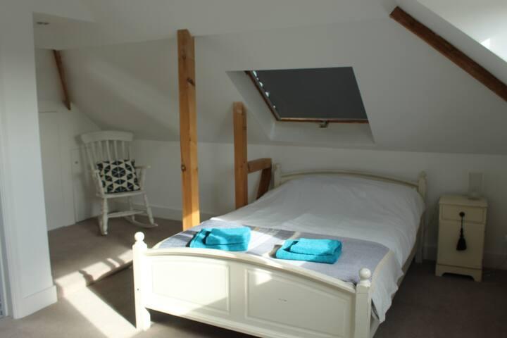Large airy en-suite on separate floor.