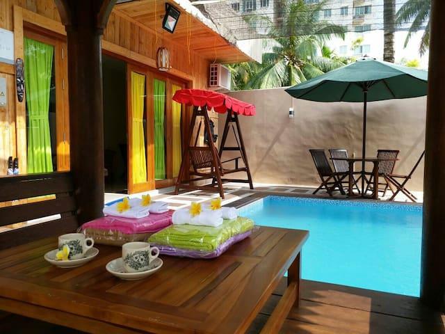 SAND VILLA with Private Pool Batam Indonesia