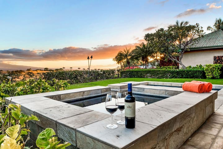 Mondavi Family Home, Wai'ula'ula 345, w/Private Pool & Spa at Mauna Kea Resort