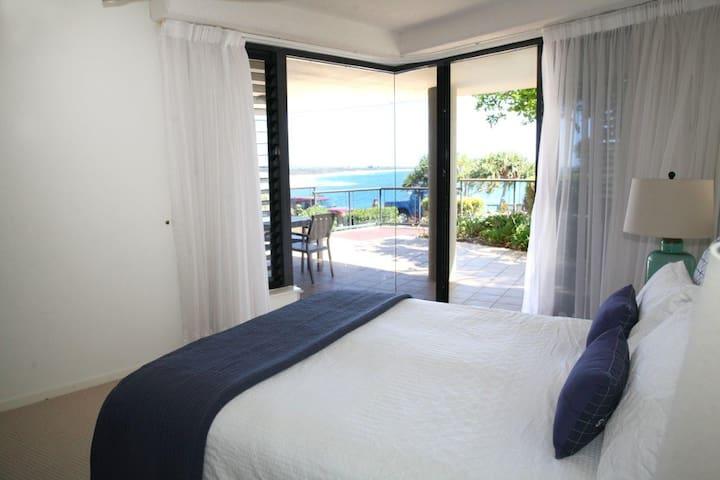 Breathtaking Ocean views from the Main Bedroom