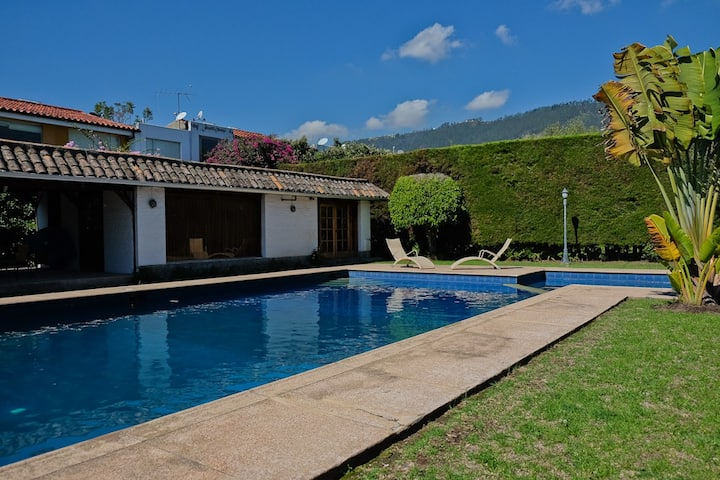 Masion with Pool in Quito