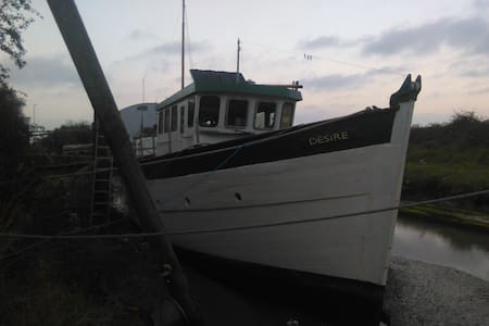 MFV Desire.40ftFishing boat adjacent Quiet Meadows - Kent