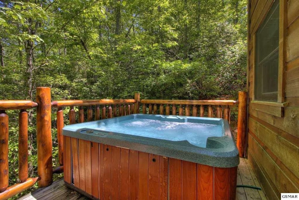 4 person Hot Tub with New Cover