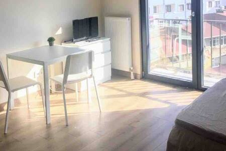 Cozy studio in Levent/Kagithane with WiFi Apt 87B