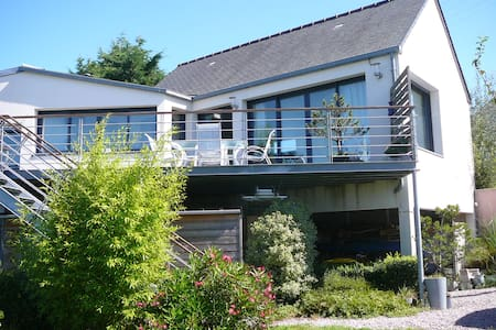 appartement 100 m2 vue mer et jardin,500m plages - Erquy