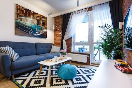 New Wave Apartment Havana z garażem