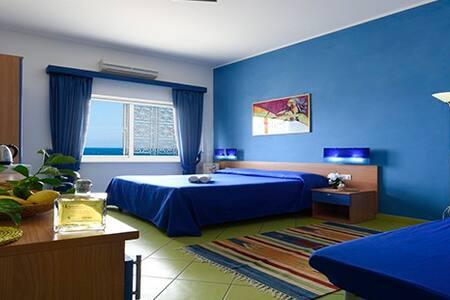 sleep on the beach  - blue room
