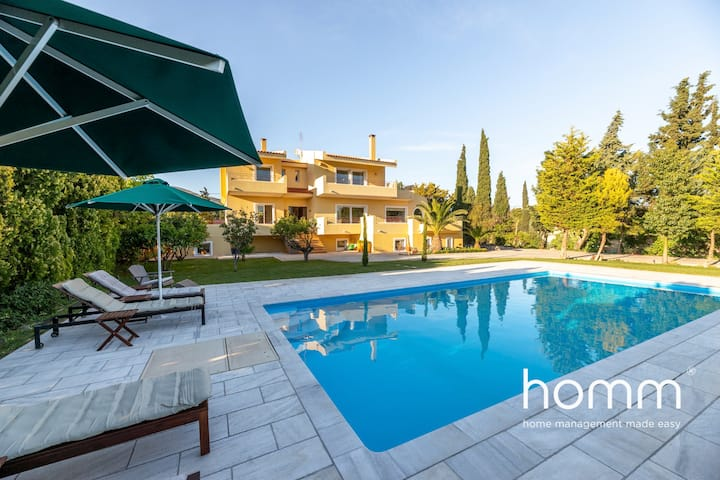 Villa Valmα homm with 5 bedrooms and private pool