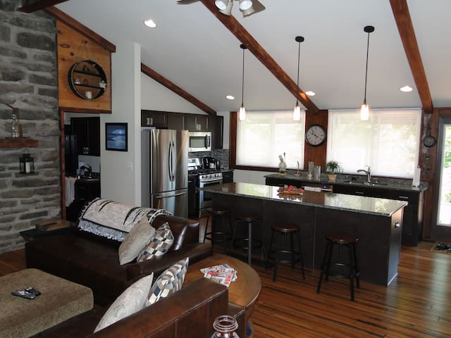 Penn State Football Rustic Lodge Home - Tyrone