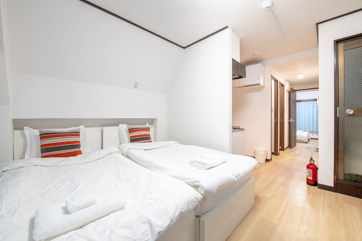 Uhome Tabata Apartment 4F, 4mn by train to Ueno