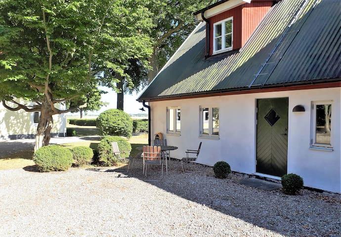 Nynäs Gård: lantlig, rofylld miljö nära Smygehamn.