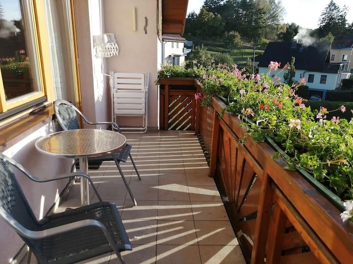 Gästehaus Tropf (Litschau), Appartement 4 mit Balkon