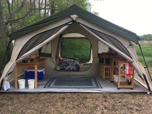 Nourishing Hearts' Therapeutic Glamping Farm Stay