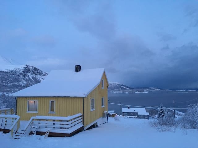 Gulhuset/ The yellow house - Lyngen - House