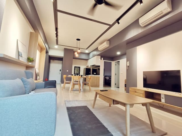 New and Comfy Radia Residence Bukit Jelutong BLK F
