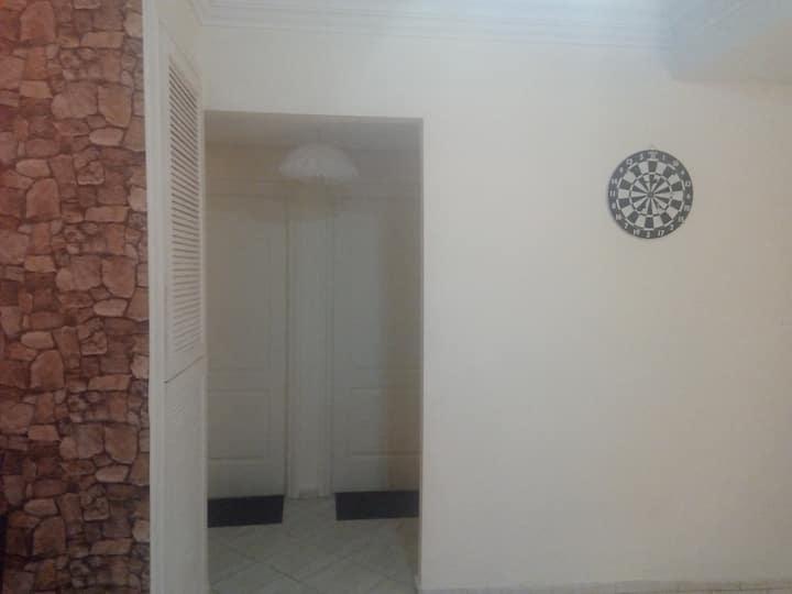 Belle Chambre Dans Un Appartement a Cote De La Mer