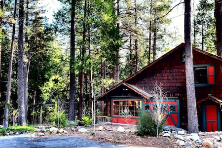 The Owl Pine: Strawberry Creek House Circa 1922 - Idyllwild-Pine Cove