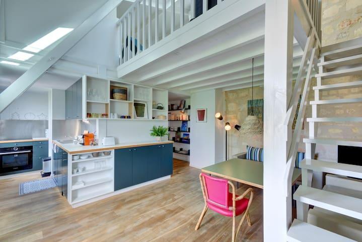 L'ETOILÉ - Beautiful Duplex - Chartrons