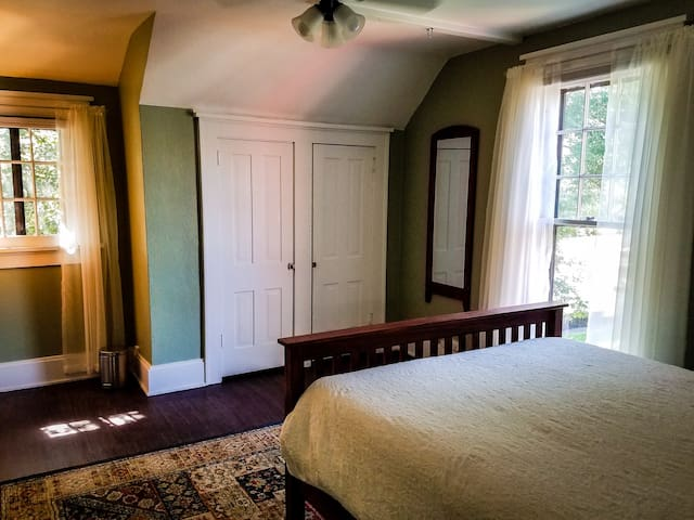 """""""Sage"""" Room, comes with a closet and future sitting area"""